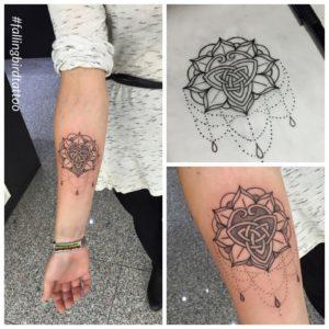 Britannia Mandala Tattoo
